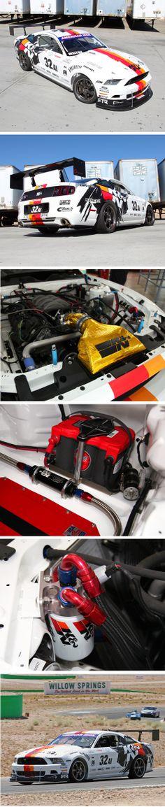 KN #FordRacing #Mustang #RTR Practice Before #NASA American Iron #LagunaSeca Race #knfilters #KNstang
