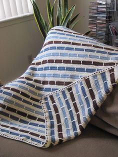 Ravelry: Stripe Blanket pattern by Bernat Design Studio