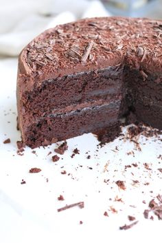 I've been making this Amazing Chocolate Cake for over 10 years and haven't found another cake that measures up! It's the last from scratch chocolate cake recipe you'll ever need. Simply the best!