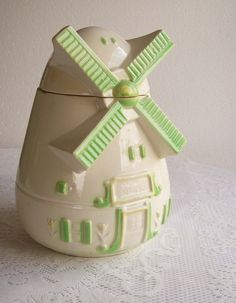 Cookie Jar Windmill Circa 1950's