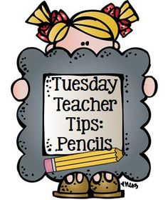 Tuesday Teacher Tips: Pencil Management - Great way to start your day.  this tip helps with pencil mgmt. and behavior.  Love it!