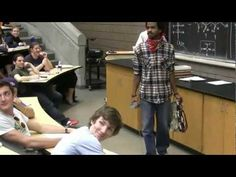Zorro Kills Thief in Lecture Prank (with Mariachi Band), University of Michigan.