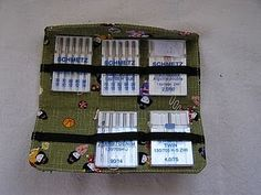 Needle case / organization -- a place to keep all your needle types handy