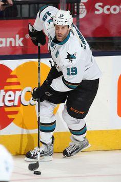Joe Thornton #19 San Jose Sharks #ohcaptainmycaptain