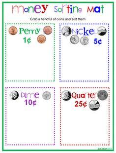 sorting money