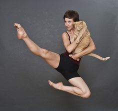 people + pets: very awkward photos.