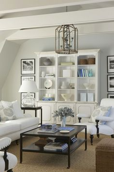 interior, coffee tables, white living, living rooms, beach houses, focal points, bookcas, family rooms, live room