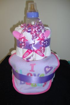 Gerber feedind set diaper cake