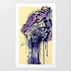 Fearless Art Print by Nicebleed - $18.00