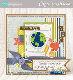 OLGA VASILIEVA FOR ECHO PARK Paper and Glue card Get the collection at #craftysteals
