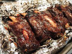 dinner, food, bones, man fuel, yummi, recip, oven beef ribs, ovens, beef ribs in the oven