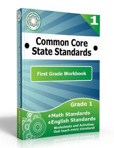 Description: First Grade Workbook, 1st Grade Workbook, First Grade Common Core Workbook, 1st Grade Common Core Workbook, First Grade Common ...