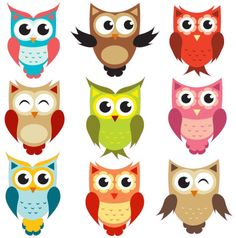 Anything Owls that look like these Owl clipart - being a wise owl