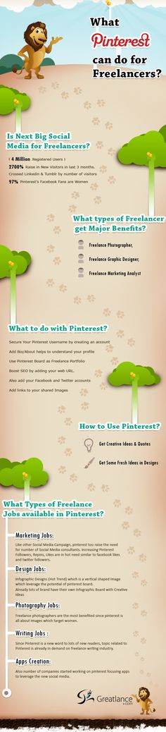 What Pinterest Can Do For Freelancers [#Infographic]