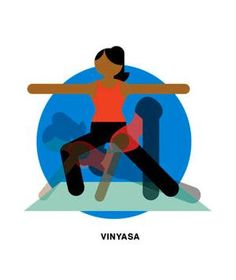 A quick guide to Vinyasa yoga, a type ideal for weight loss.
