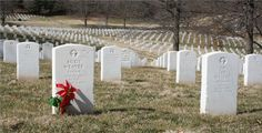 Leavenworth National Cemetery in Leavenworth, Kansas. Photo by Neil Croxton