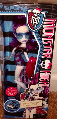 Monster High Swim Spectra Exclusive NEW