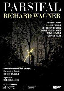 Wagner: Parsifal: Victor von Halem, Thomas Johannes Mayer, Anna Larsson, Romeo Castellucci, Orchestre symphonique de la Monnaie,... la monnai, romeo castellucci, victor von