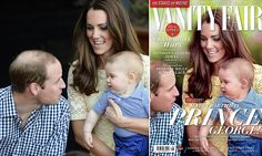 Vanity Fair accused of covering up Prince William's thinning hair