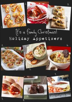 It's A Family Christmas on BHG Delish Dish!! Stop on by for some fabulous appetizer recipes for all your holiday parties!!
