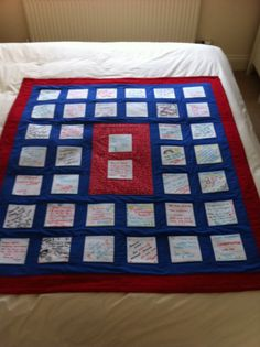 Signed Wedding quilt