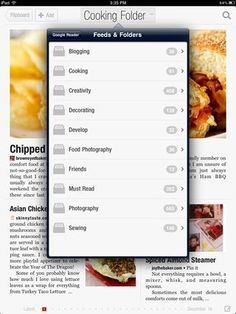 How do you read blogs? If you're on Google Reader and also own an iPad, check out this awesome app that lets you sort your feeds into a print-style magazine. PERFECT for visual blog posts with pretty photos.