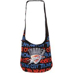 New item! Oklahoma City Thunder Robin Ruth Round Shoulder Bag - available for $40 at nbathundershop.com.