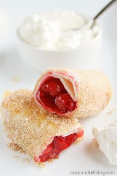 Cherry Empanadas from www.tasteandtellblog.com