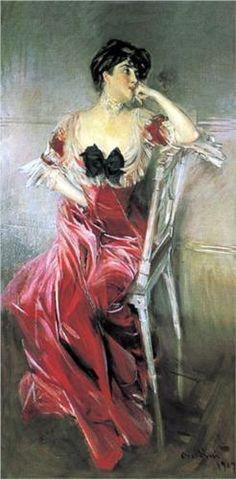 Miss Bell - Giovanni Boldini
