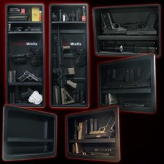 Tactical Walls: Hidden Wall Inserts for Home Defense putting these in for sure!