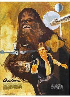 Burger Chef Star Wars poster