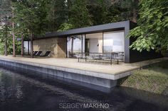 Line House by Sergey