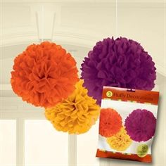 Fluffy Fall Decorations from Windy City Novelties