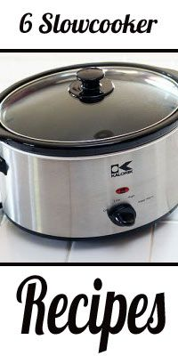 7 Slowcooker Recipes Roundup