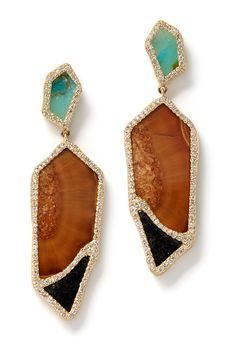 MONIQUE PÉAN earrings...SUPER rad.