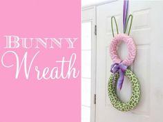 Bunny Circle Wreath Tutorial
