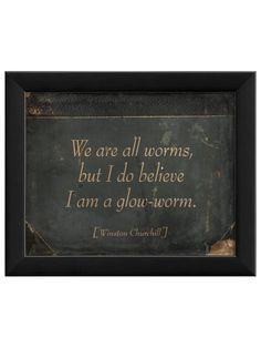 glowworm, thought, quot