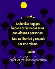 frase de velos para página personal de facebook....velos de faltas-despertares Twitter: @velosdefaltas