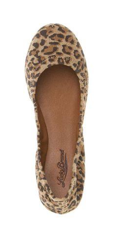 Emmie Flats in Leopard