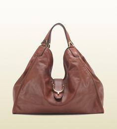 soft stirrup leather shoulder bag #gucci #purse