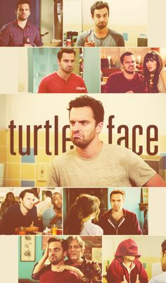 You get all mean and then you make that little turtle face!