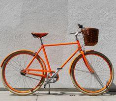 D3 Orange Bike