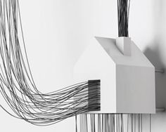 David Moreno  wire drawings