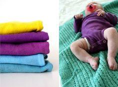 Dyeing onesies!