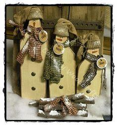 snowmen snowmen melt, mari countri, christmaswint idea, countri woodcraft, primit woodcraft, wooden snowmen, hat, country, snowman trio
