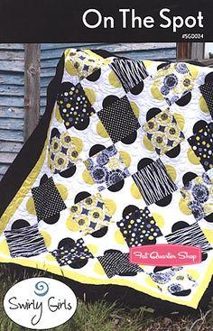 On the Spot Quilt Pattern Swirly Girls Design