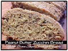 Howdy peeps! I hope you are having a terrific week! I'm sharing one of new favorite bread recipes! Peanut butter and zucchini together? I know it sounds like a strange pairing, but trust me it's am...