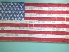 Veteran's Day Bulletin Board