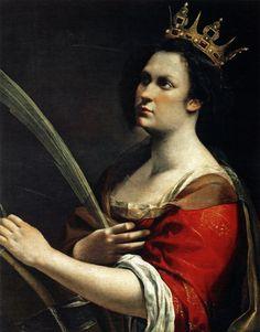 Of alexandria artemisia gentileschi c 1618 19 more gentileschi