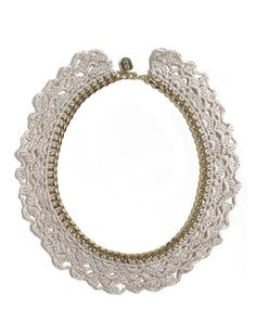 crochet collar necklace by Daydream Nation